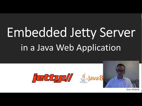Embedded Jetty Server in Java 8 Web Application. - State of Software Engineering (#SOSE4)