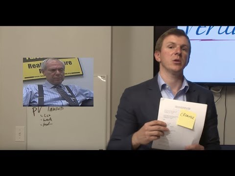 A Message From James O'Keefe: A Stack of Frivolous Lawsuits
