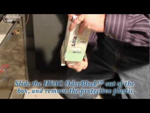 HVAC Odor Block - How to Remove Odors in the Home and Building