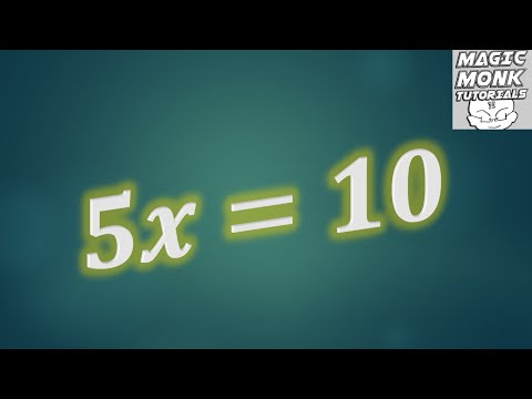 Anyone can do Algebra lesson 1 - pre-requisite knowledge, order of operations, rearranging equations
