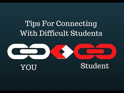 Tips For Connecting With Difficult Students In Your Ministry