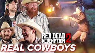 Real Cowboys Go Wild In Red Dead Redemption 2 Online • Pro Play