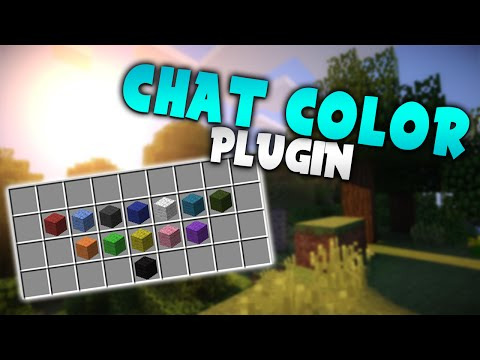 THE AMAZING CHAT COLOR! | Minecraft Plugin Tutorial