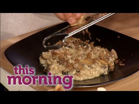 Gino's Wild Mushroom And White Truffle Risotto | This Morning