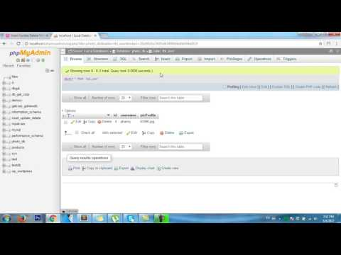 PHP: MySQL (PDO) how to view image and data from database and folder with php and mysql?