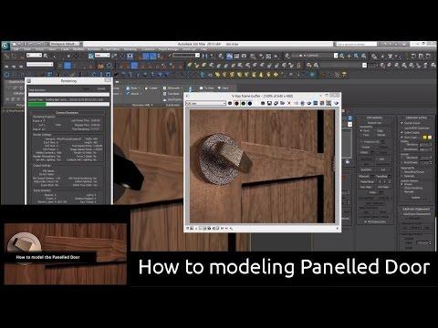 How to modeling Panelled Door