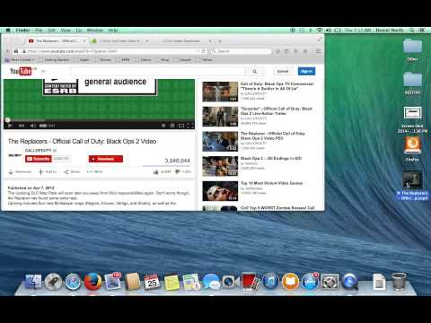 How to Download videos onto Macbook Pro