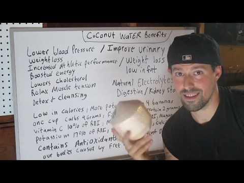 Coconut Water Benefits !!!!!!!!