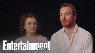 Trespass Against Us: Michael Fassbender & Lyndsey Marshal On Their Roles   Entertainment Weekly