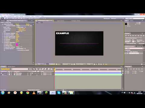Adobe After Effects CS4 - How To Make A Equalizer (Tutorial)