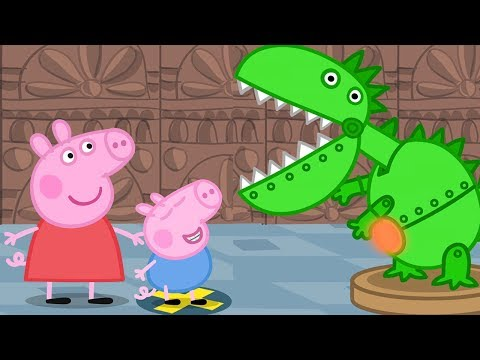 Peppa Pig English Episodes - Peppa and George's Trip to the Museum! - #046