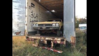 Tractor Trailer Salvage Yard Found Hiding A MEGA MUSCLE CAR STASH!!!