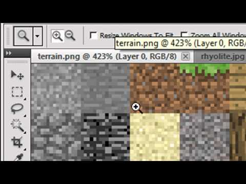 How to turn real pictures into a texture pack - Minecraft