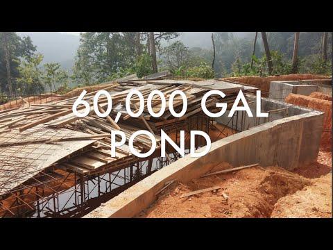 60,000 GAL POND CONSTRUCTION UPDATE!