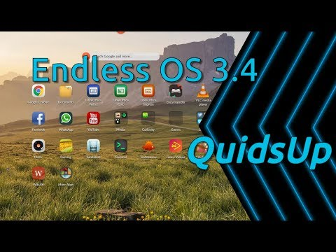 Looking at Endless OS 3.4 – Linux OS for Developing Nations