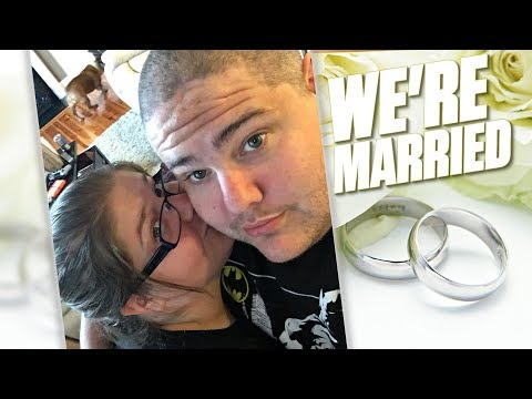 WE'RE MARRIED! **SERIOUSLY**
