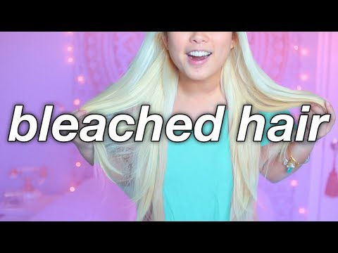 How To Make DAMAGED BLEACHED Hair Look Healthy!