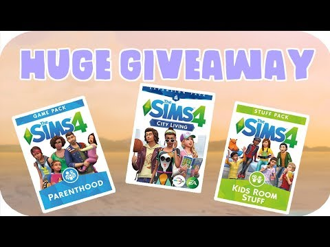 💸 HUGE SIMS 4 GIVEAWAY! 💸 + VOICE REVEAL & NAME CHANGE