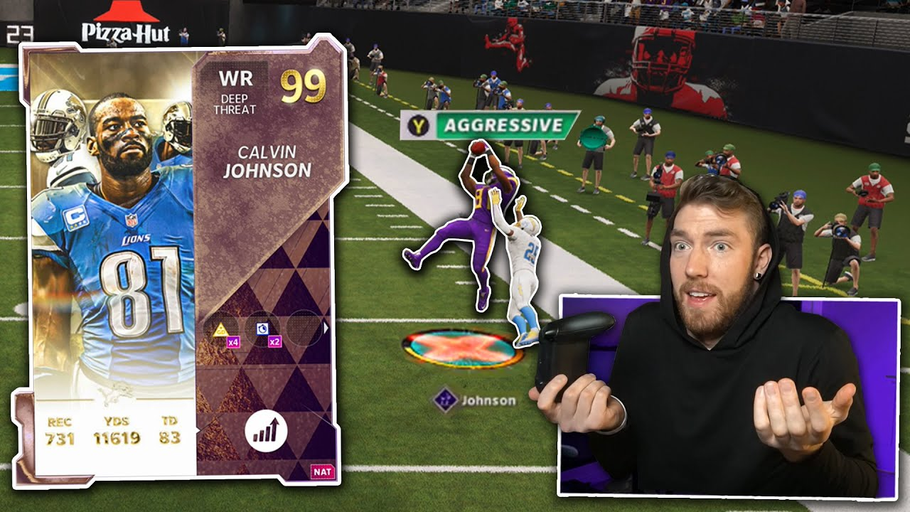 I played Weekend League with new Calvin Johnson...