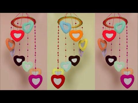 Beautiful Wall Hanging Idea at Home || Wall Hanging Craft Idea using Hair Rubber Band || DIY