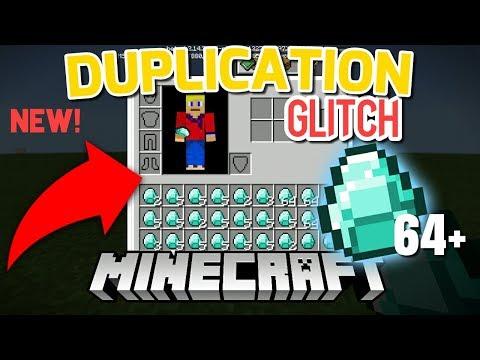 NEW DUPLICATION GLITCH IN MINECRAFT 1.2 !!