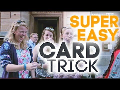 Magic Tricks Revealed: Super Easy Card Trick! Simple Card Magic!
