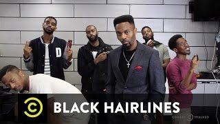 Dormtainment - Black Hairlines