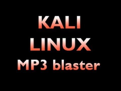 Kali Linux - Install MP3blaster