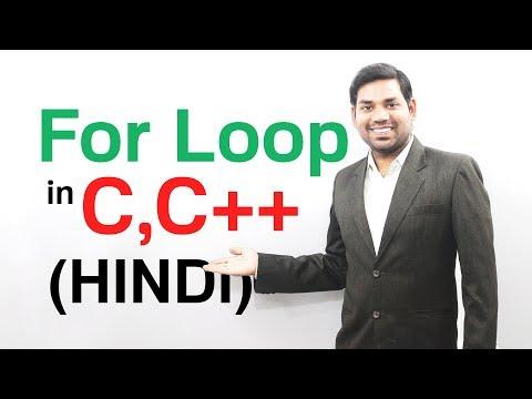 For Loop in C with Example Program (HINDI/URDU)