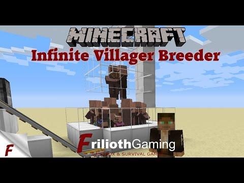 ✅ Minecraft Infinite Villager Breeder Tutorial 1.12 & 1.12.1 EASY to Build