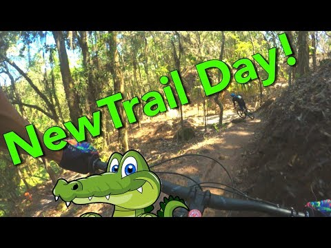 Sneak Peek of the NEW MTB Stardust Trail at Alafia River State Park | Lithia, FL