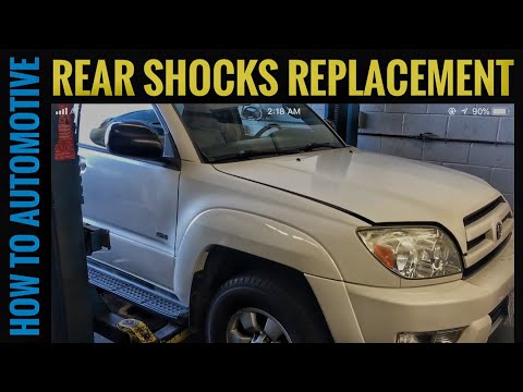 How to Replace the Rear Shocks on a 2003 Toyota 4Runner