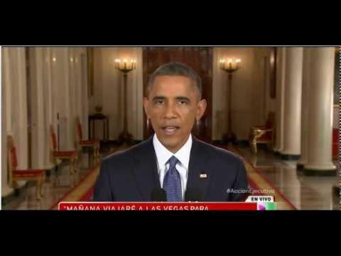 Barack Obama Anuncia Acción Ejecutiva 11/ 20 / 2014
