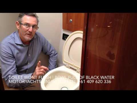 Sealand Vacuflush Toilet won't flush - Bowl full of water