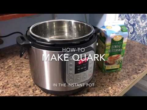 How to make Quark in the InstantPot
