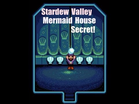 Stardew Valley 1.3 Mermaid House Secret Pearl