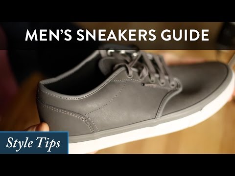 Men's Sneakers Guide - How to Find the Best Sneaker for You