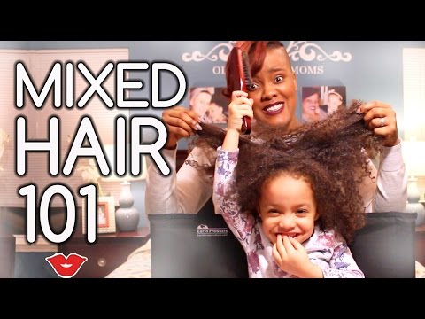 How To Maintain Mixed Hair | Millennial Moms Guest OliviaHas2Moms