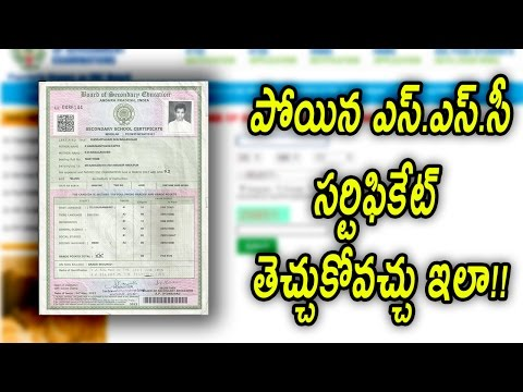 How to Get Back Lost SSC Certificate.