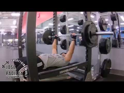 Chest Triceps Shoulders Workout