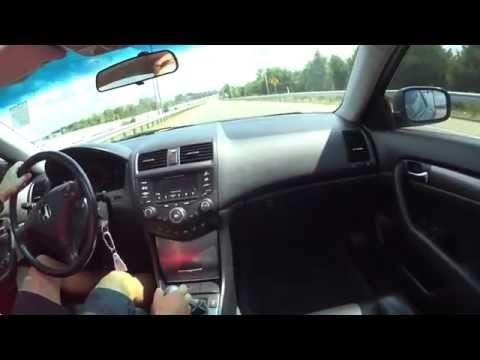 2004 Honda Accord Coupe V6 6-Speed HFP Acceleration