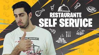 Restaurante Self Service - DESCONFINADOS (Erros no final)