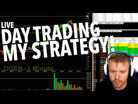 Day Trading LIVE! MY STRATEGY!