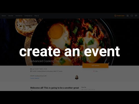 How to create an event page | Billetto