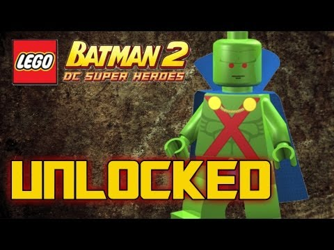 LEGO Batman 2 DC Superheroes - How to Unlock Martian Manhunter
