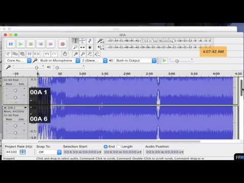 Split DTS 5.1 WAV file to Individual Tracks Free on Mac