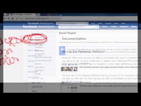 How To Make A Face book like box on blogger blog and website