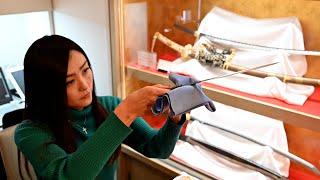 日本刀の美 刀剣美術商に会いにゆく銀座篇「女性刀剣商と勉強会」