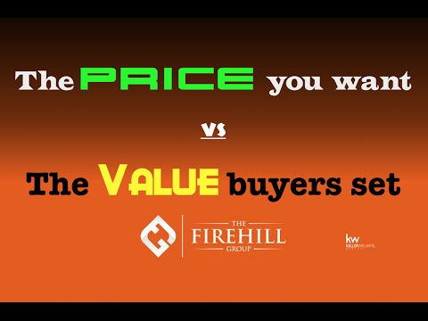 Selling your home: Price vs Value