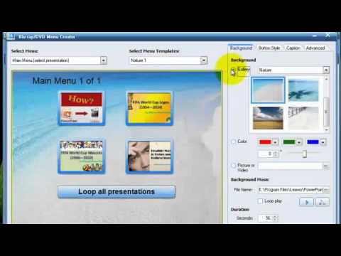 How to Burn a PowerPoint to DVD/Blu-ray Disc